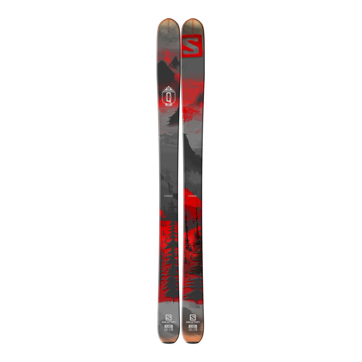 Salomon Q 105 2016 Ski 100 109mm All Mountain Ski