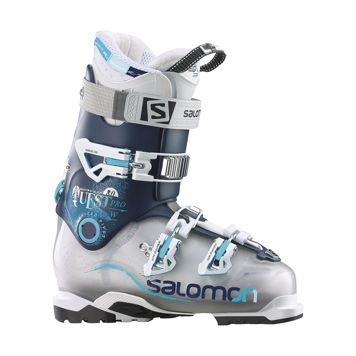 salomon quest pro 80 femme 2016 hybrid ski boots. Black Bedroom Furniture Sets. Home Design Ideas