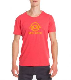 3RD ROCK MONSTEE HOT CORAL CLIMBING T-SHIRT