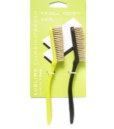 Lot de 2 brosses d'escalade Slimline