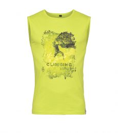 Calanques Virus Sleeveless Tee (Steinbock)