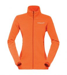 Norrona Falketind Warm1 Women's Fleece Jacket Scarlet Ibis