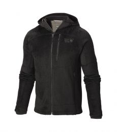Mountain Hardwear, Monkey Man Grid ll Hooded Jacket, Fleeces, 2016