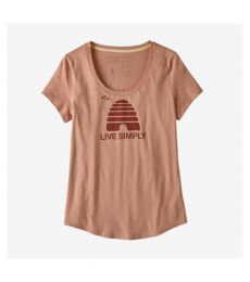 Live Simply Hive Organic Scoop T-Shirt