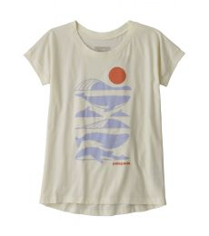 Graphic Organic Cotton T-Shirt Bambina