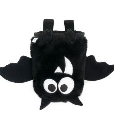 Crafty Climbing Bat Chalk Bag Black