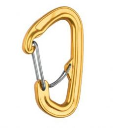 Carabiner with secondary gate