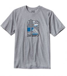 Live Simply Landscape Responsibili-Tee Drifter Grey