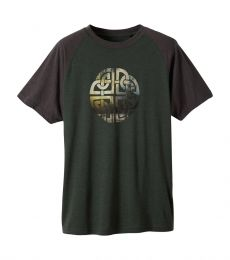 Prana Interwoven Tee evergreen