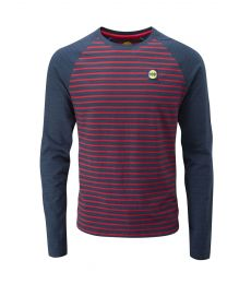 Striped Bamboo Tech Long Sleeve Men's