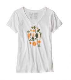 Patagonia Women's Harvest Haul Organic V-Neck T-Shirt