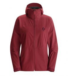Black Diamond Liquid Point Shell Women Maroon