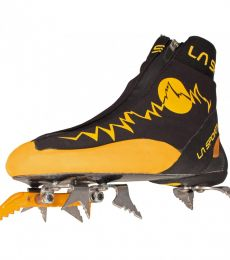 Lightweight speed alpinism crampon boots