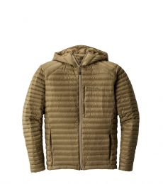 Water-resistant goose down jacket