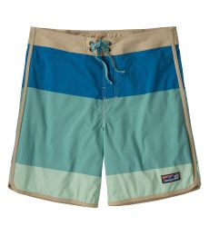 Men's Scallop Hem Stretch Wavefarer Boardshorts - 18""