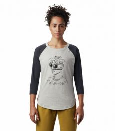 Head in the Clouds™ Raglan 3/4 T Donna