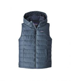 Womens Hi-Loft Down Hooded Vest