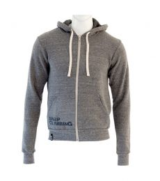 SNAP Zip Hoody Grey
