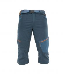 Cliff Quarter Pant Blue Grey