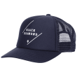 Flat Bill Trucker Hat